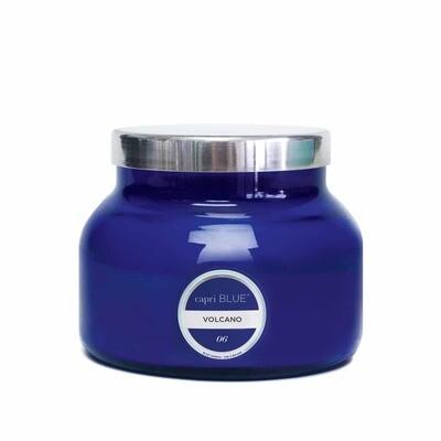 Capri Blue Large Blue Jar.. Volcano Scent