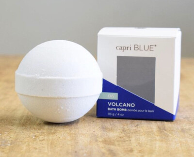 Volcano Scented Bath Bomb from Capri Blue