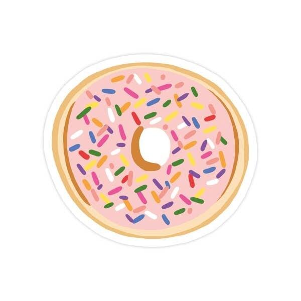 Donut Vinyl Sticker