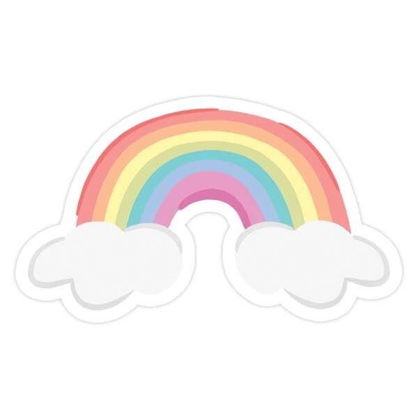 Rainbow Vinyl Sticker