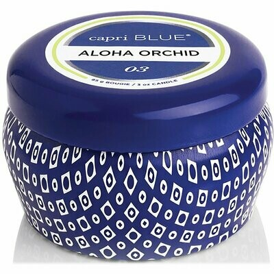 Capri Blue Aloha Orchid Mini Candle