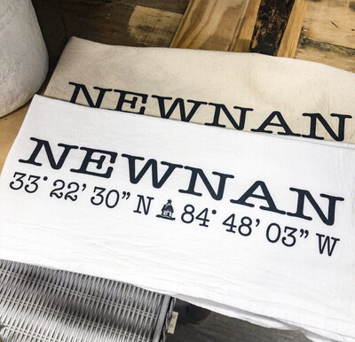 Flour Sack Dishtowel Newnan