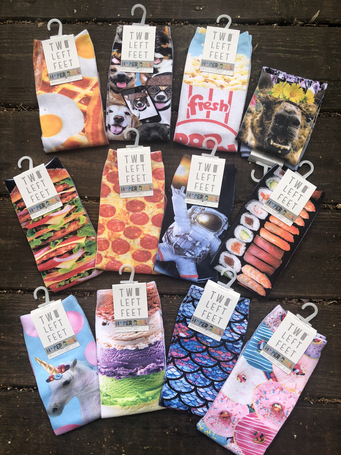 Hyper Real Sublimation Socks... Small