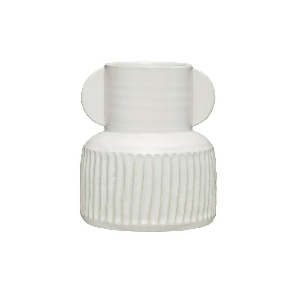 Simple and Elegant Stoneware Vase