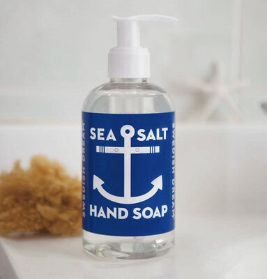 Sea Salt Liquid Hand Soap
