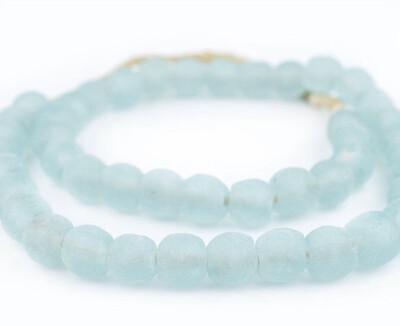 Aqua Glass Beads