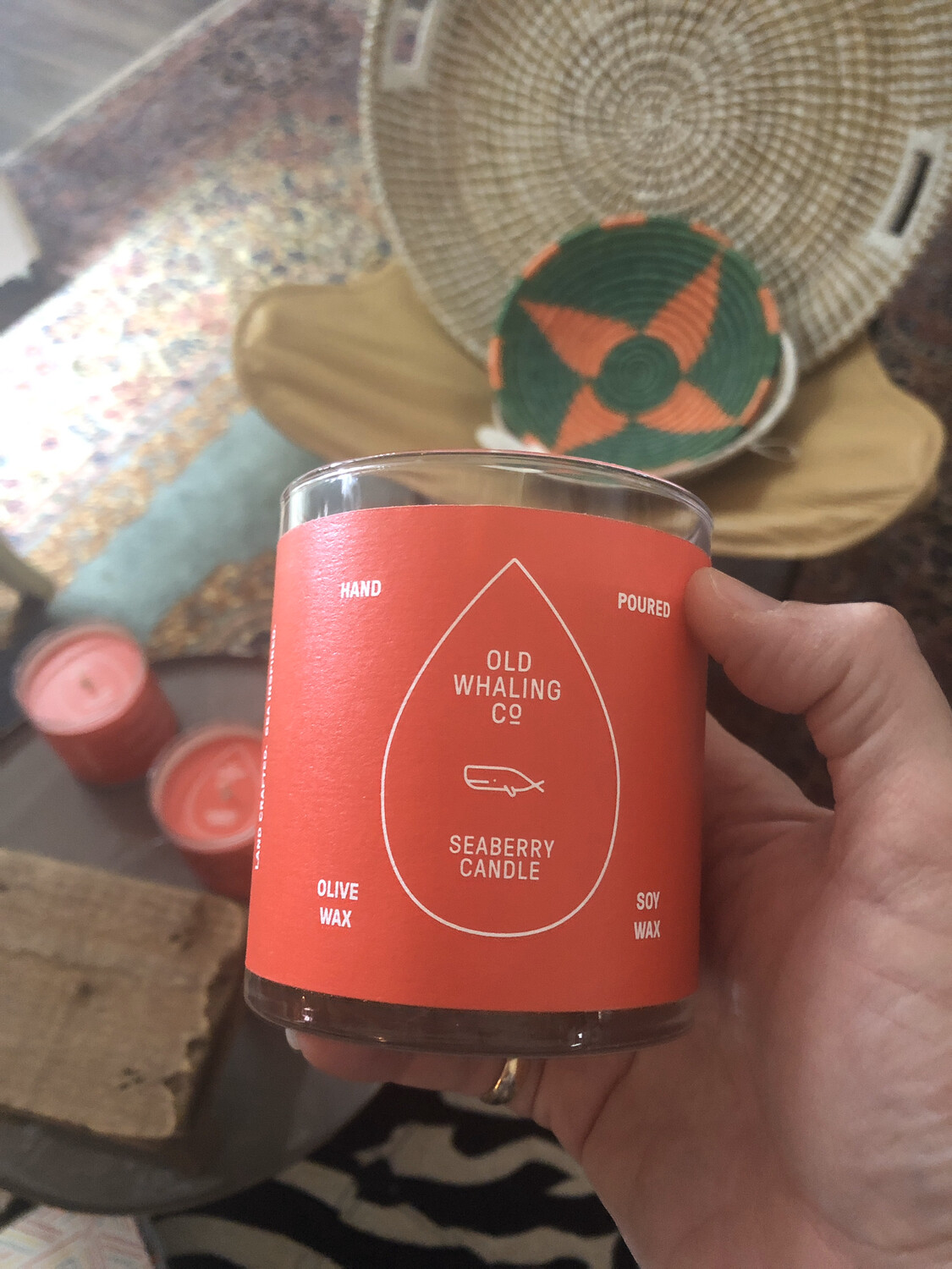 Old Whaling Company Seaberry Candle