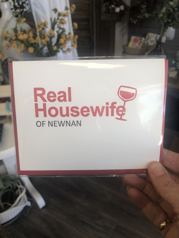 Real Housewife Of Newnan Card