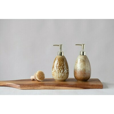 Stoneware Soap Dispenser