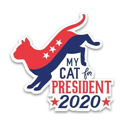 My Cat for President 2020 Magnet