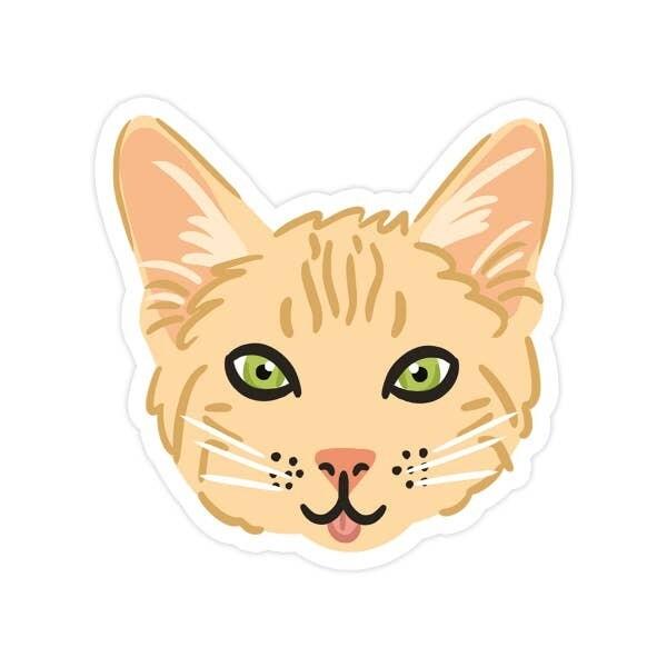 Kitty Vinyl Sticker