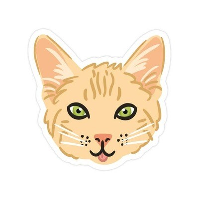 Kitty Vinyl Sticker