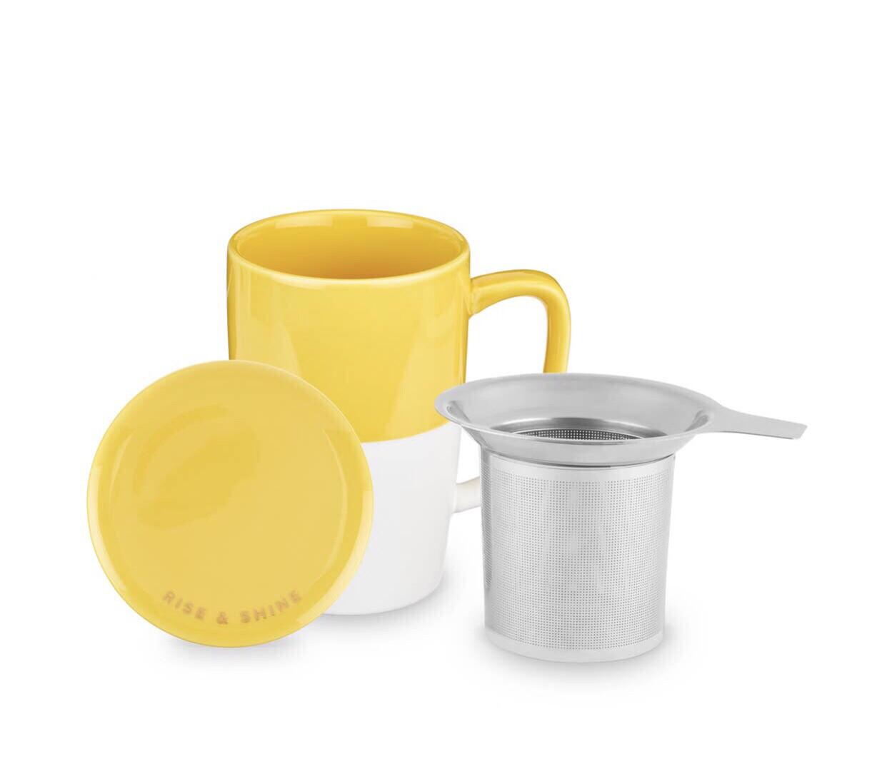 Delia Infuser Tea Mug Set