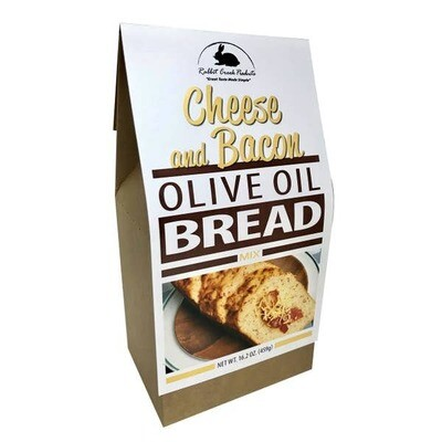 Cheese and Bacon Olive Oil Quick Bread
