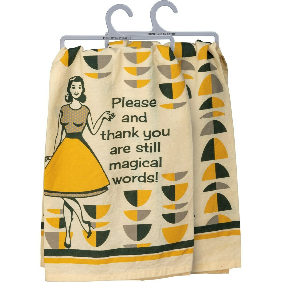 Please & Thank You Dishtowel