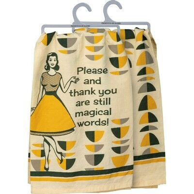 Please & Thank You Dishtowel