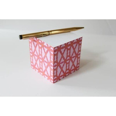 Bamboo Sticky Note Cube