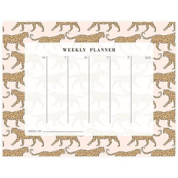 Leopard Weekly Planner