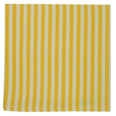 Canary Yellow Stripe Napkin 20x20