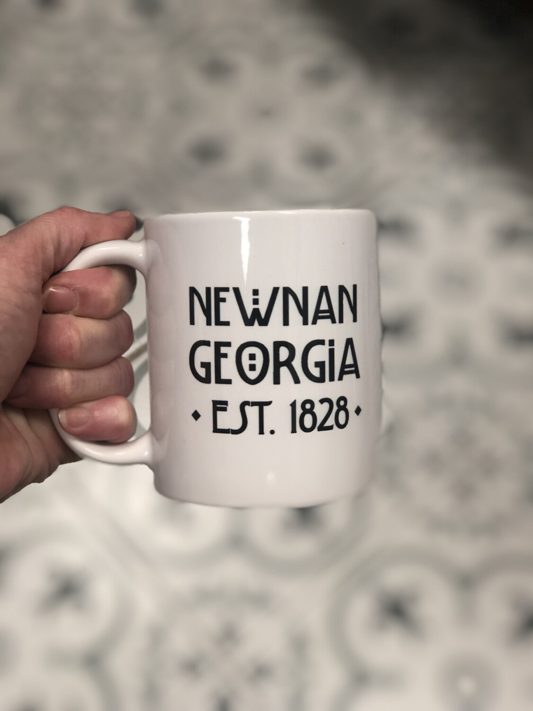 Newnan, Georgia est 1828