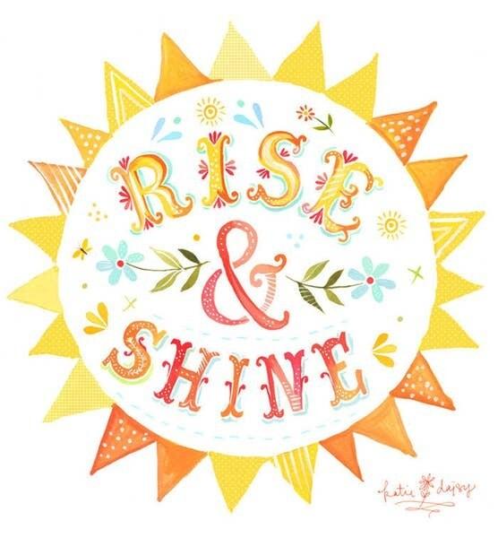 8x10 Rise & Shine
