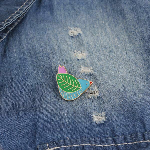 Blue Bird Enamel Pin