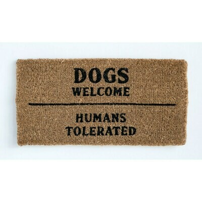 Dogs Welcome Mat