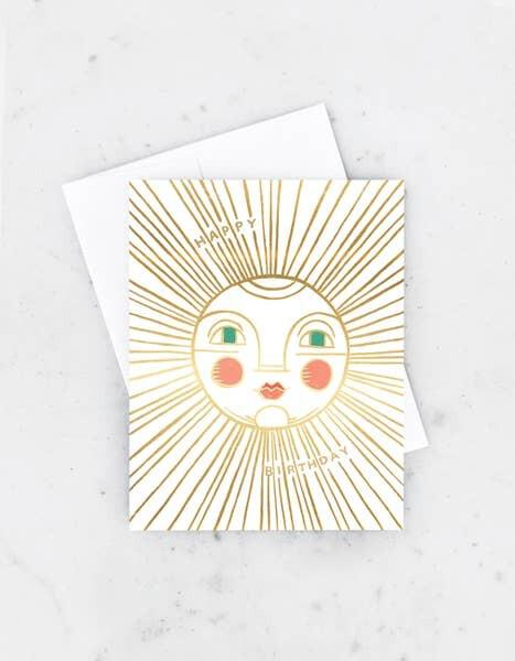 Birthday Sun Card