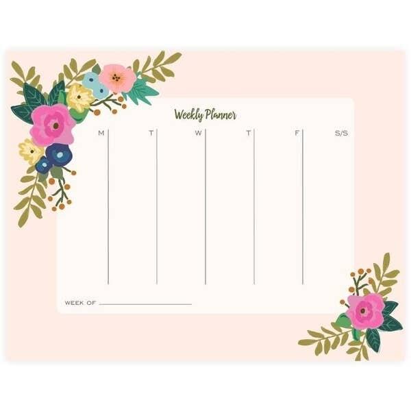 Bloom Weekly Planner