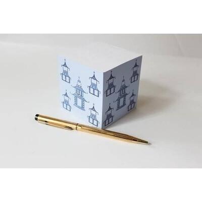 Pagoda Sticky Note Cube