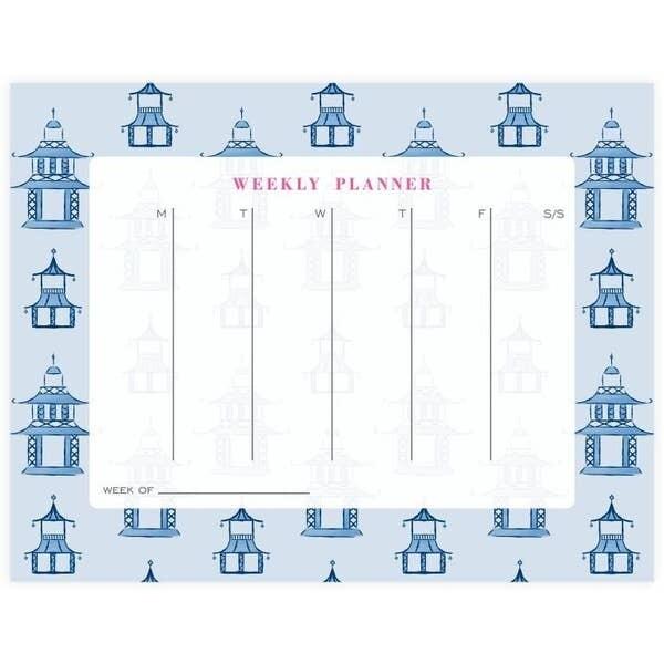 Pagoda Weekly Planner