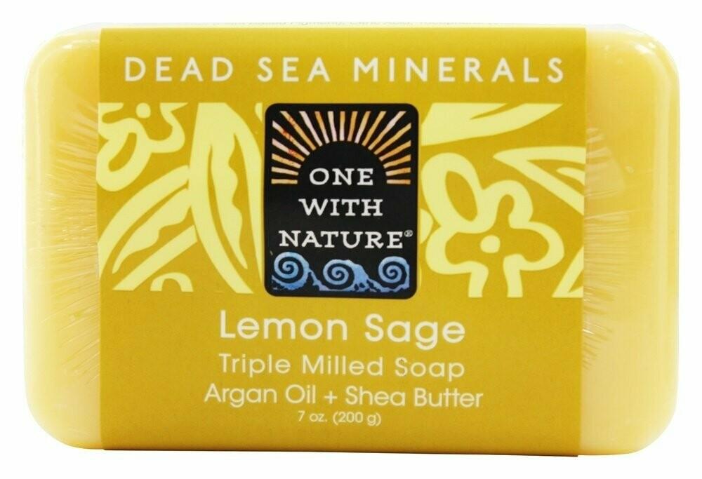Dead Sea Spa Lemon Sage Soap