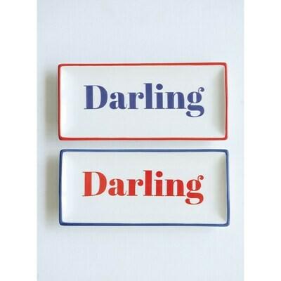 Darling Stoneware Plate