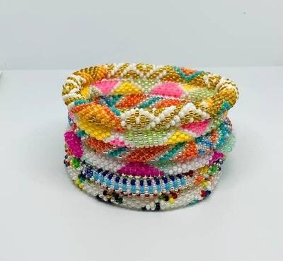 Nepal Beaded Bracelet in Summer