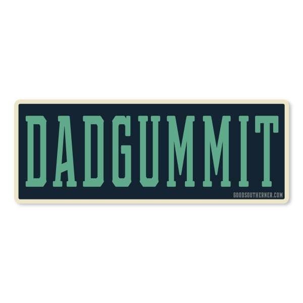 Dadgummit Vinyl Sticker