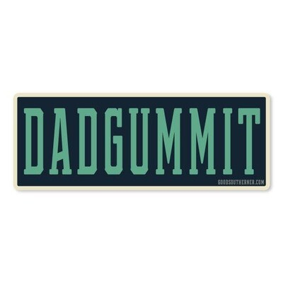 Dadgummit Vinyl Sticker