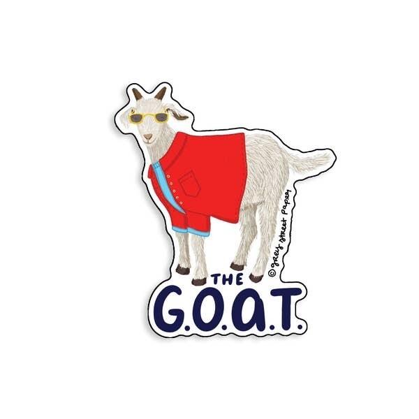 The Goat Vinyl Sticker