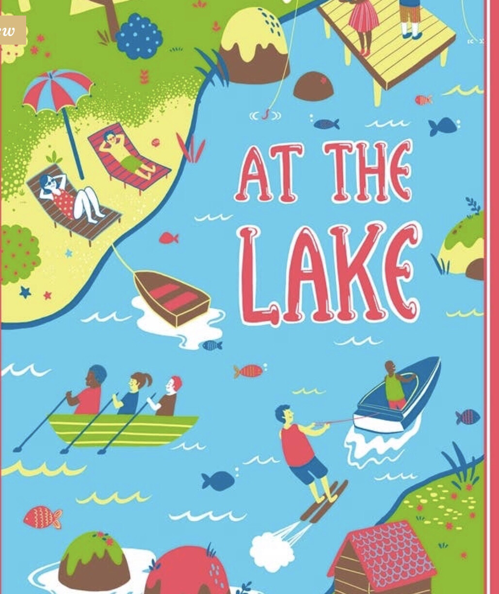 At The Lake Towel