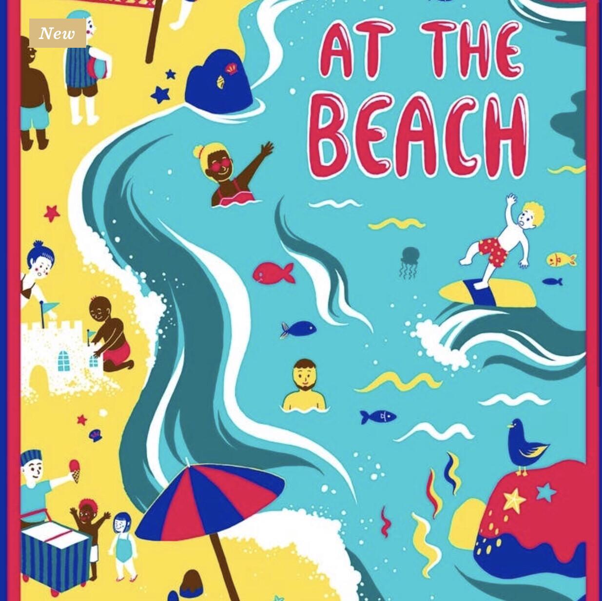At The Beach Towel