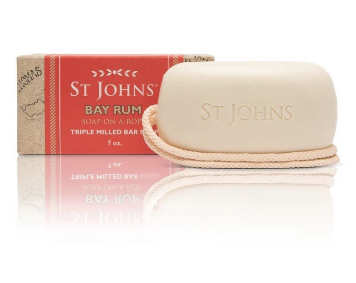 St Johns Bay Rum Soap on a Rope