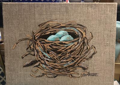 8x10 Nest by Charlsie Sprewell