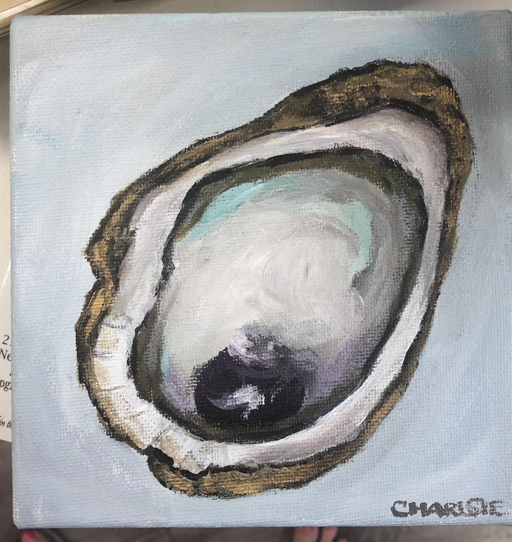 6x6 Oyster by Charlsie Sprewell