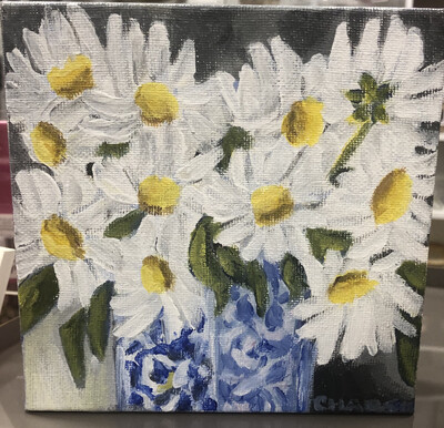 6x6 Daisys by Charlsie Sprewell