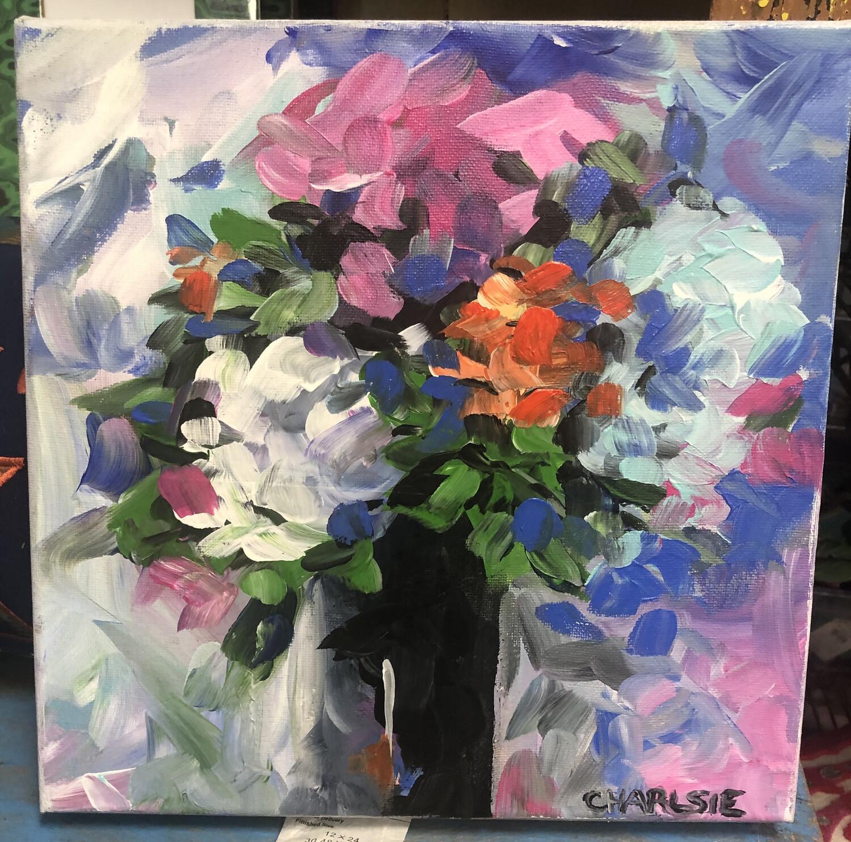 12x12 Petals by Charlsie Sprewell