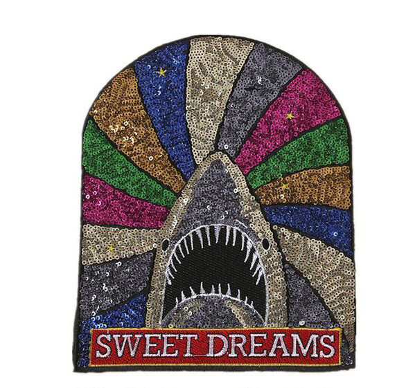 Sequined Sweet Dreams Patch