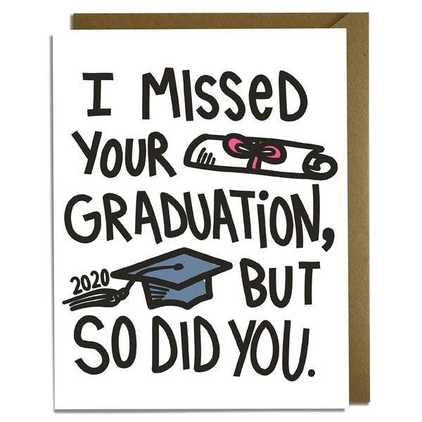 Missed Graduation 2020 Card