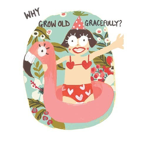 Gracefully Card