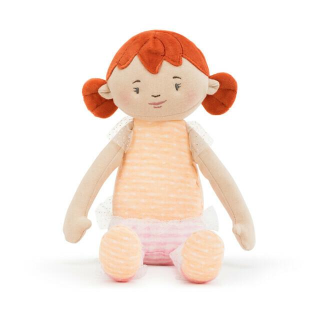 "Redhead- 14"" Strong Little Girls Doll"
