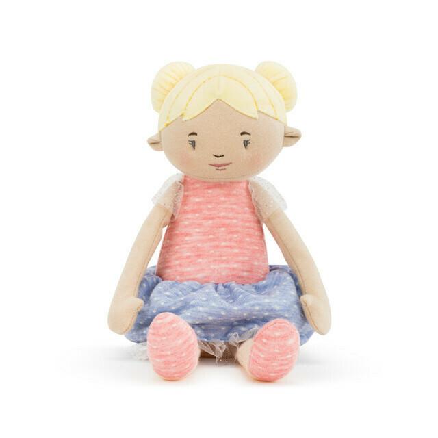 "Blonde- 14"" Strong Little Girls Doll"
