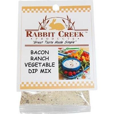 Bacon Ranch Vegetable Dip Mix